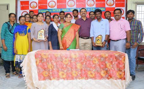 Sri Medha CMA Inter june 2019 Results